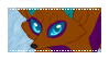 Blue Fur Rin Stamp by VixessRin