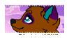 Purple Cloud Rin Stamp by VixessRin