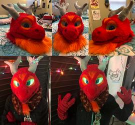 Dragon Head Collage!