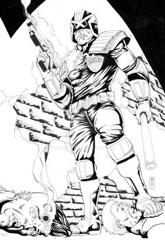 Judge Dredd Inks