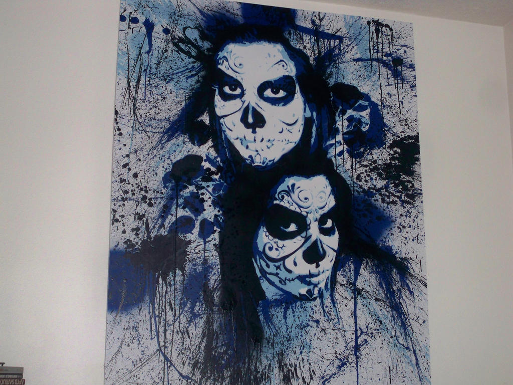 Day of the Dead by iStncLart