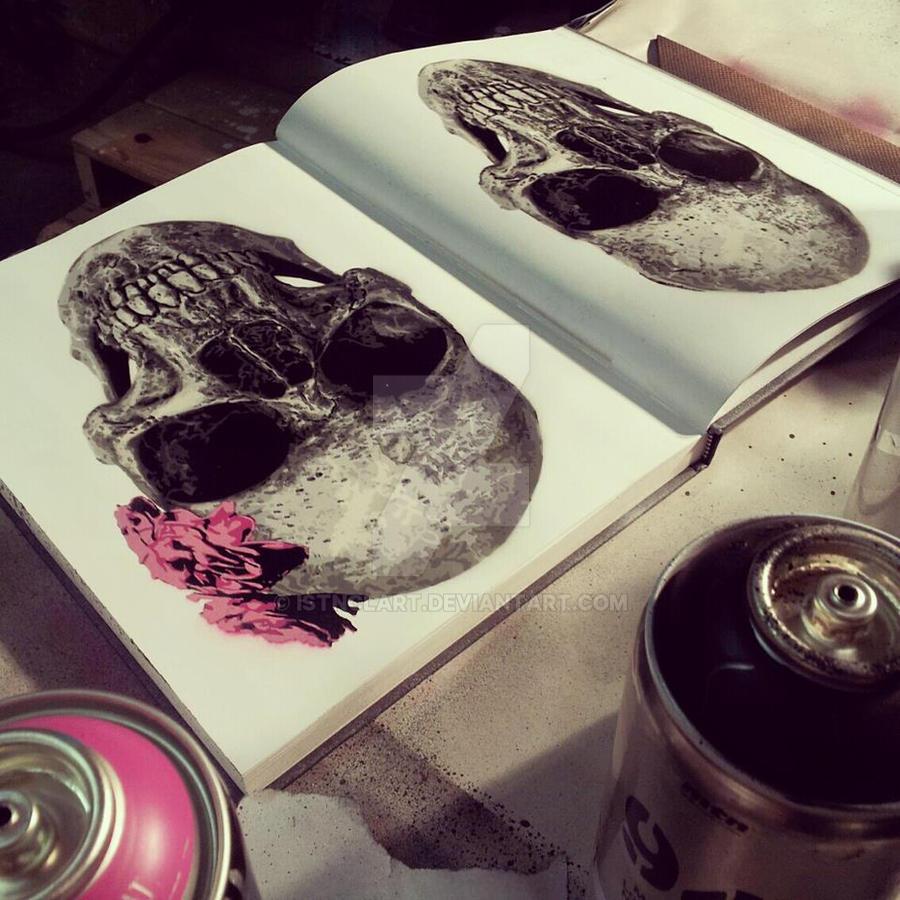 Skulls Forever by iStncLart