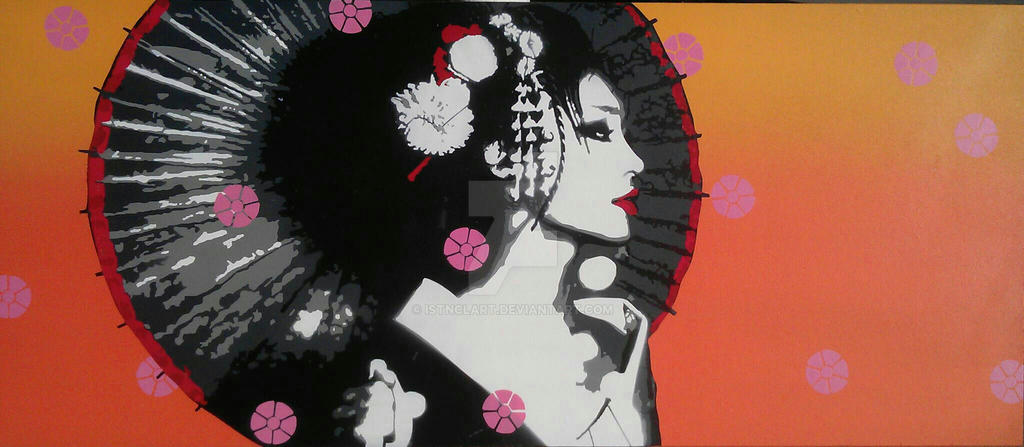 Geisha girl by iStncLart
