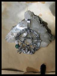 Leafy Pentagram by drakonaria