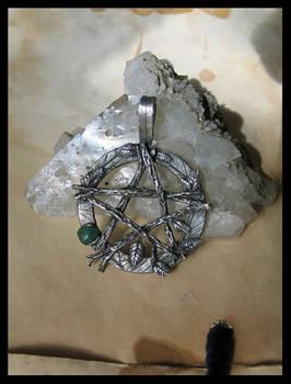 Leafy Pentagram