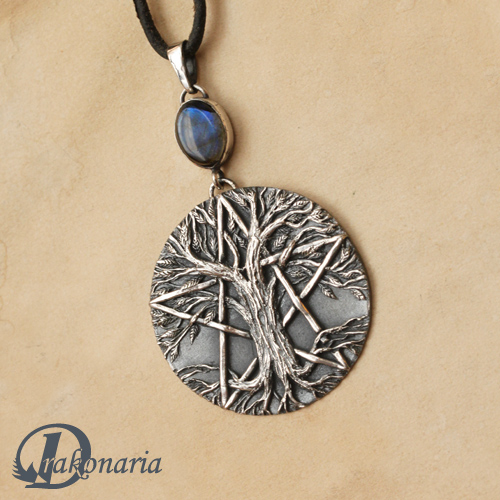 Tree of Life pentacle by drakonaria