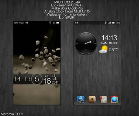 my homescreen 16 07 2011