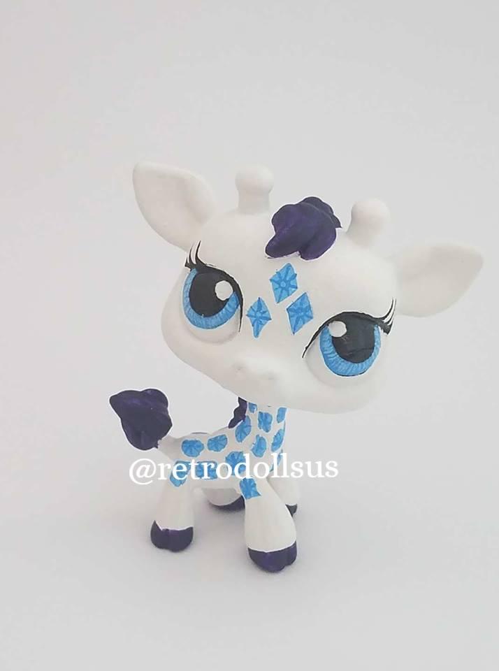 Custom LPS Giraffe- Rarity by enchantress41580