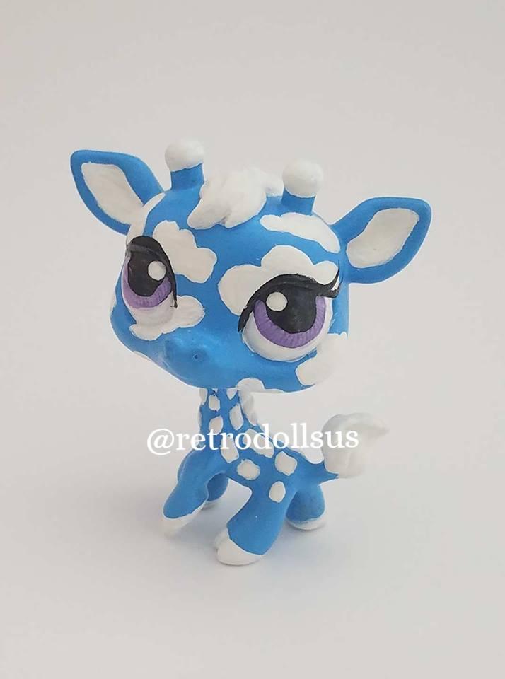 Custom LPS Giraffe by enchantress41580