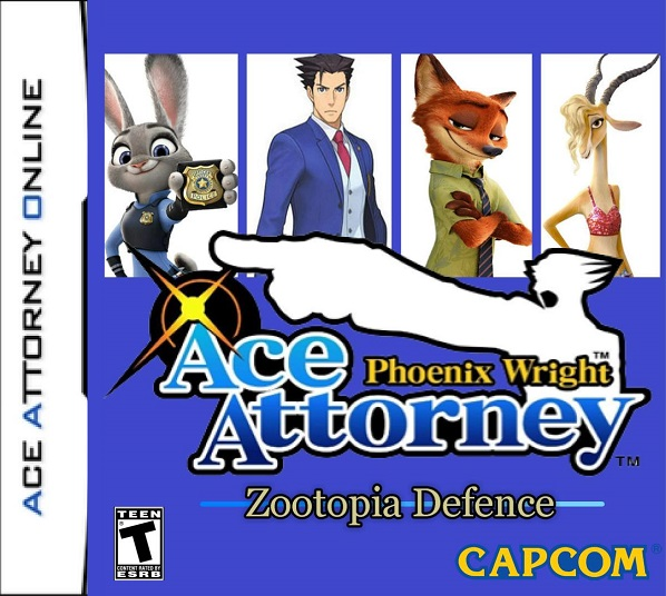 The Ace Attorney crossover fan-game, Zootopia Defence, is complete!