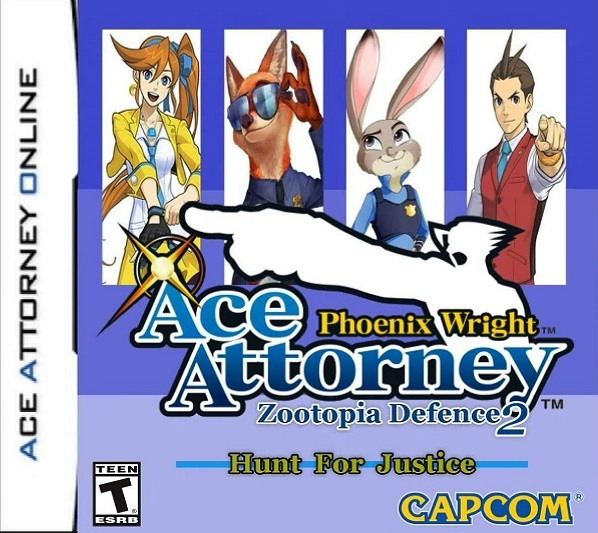 Ace Attorney When A Video Game Adaptation: Zootopia Defense, The Ace Attorney Fan-Game, Gets A SEQUEL