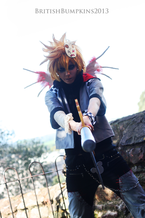 Roxas - I Dare You by BritishBumpkins
