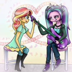 Guitar lessons by lashesgem