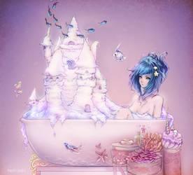 bathtub fish by hachiyuki