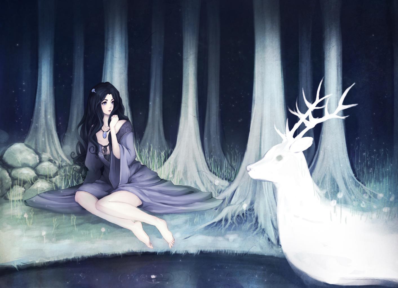 Antler's forest by hachiyuki