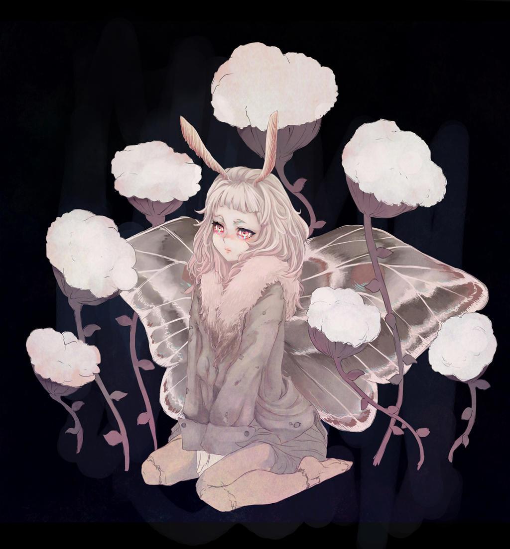 Moth by hachiyuki