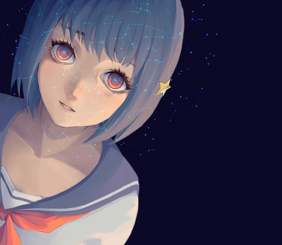 Astronomy girl by hachiyuki