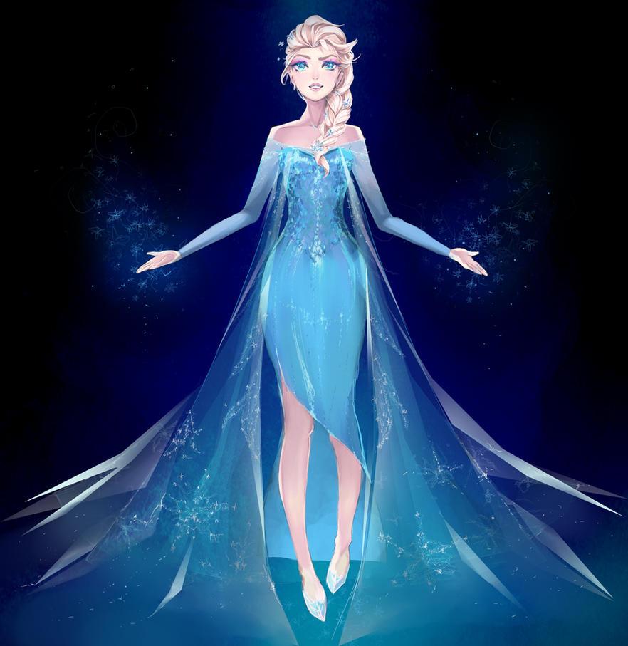 Ice queen by hachiyuki