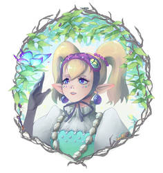 Goddess Butterfly by hachiyuki