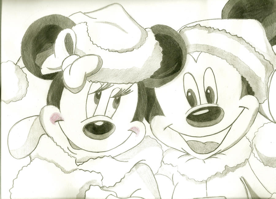 mickey and minnie mouse by andreasteph on deviantart