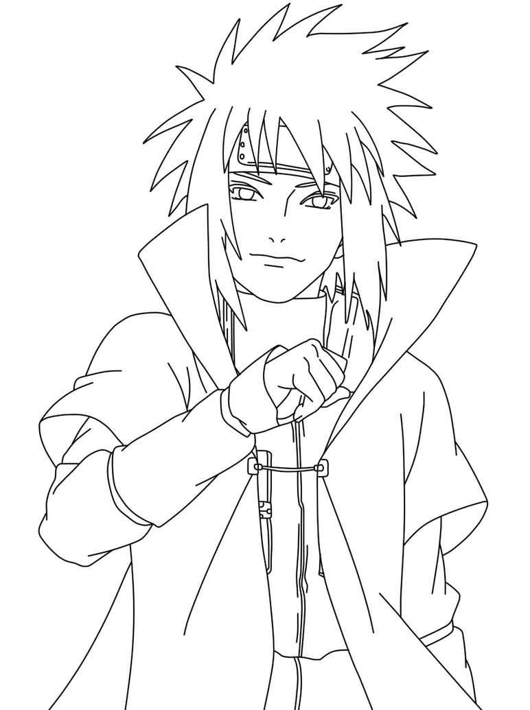 Kumpulan Gambar Sketsa Naruto Dari Pensil Sketsa Gambar