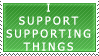 I Support Supporting by RazTwilight