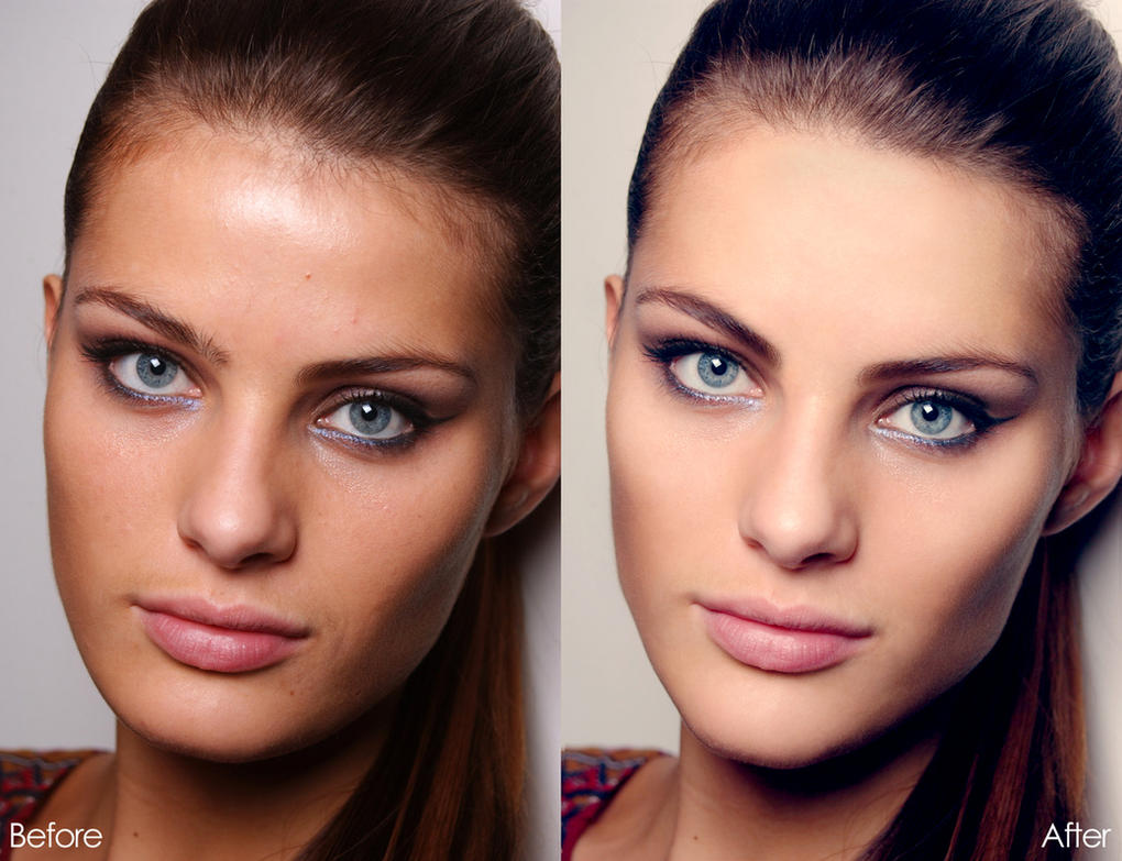 Time Lapse Video Shows Model's Photoshop Transformation ...