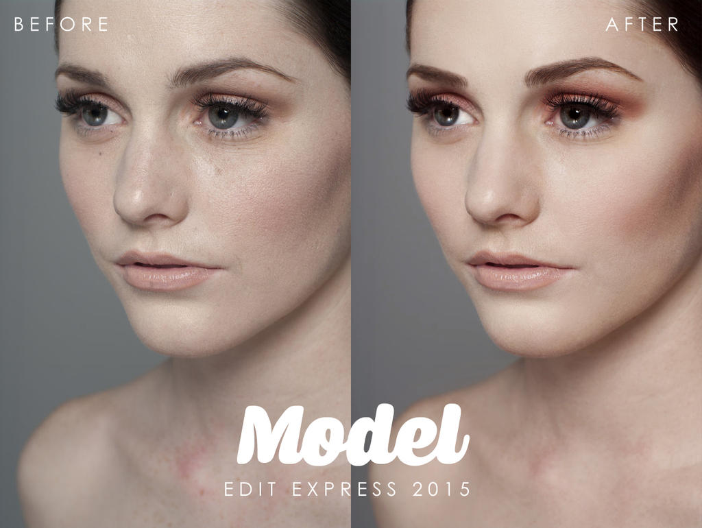 model 270115 Before and After by edit-express on DeviantArt