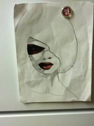Art class drawing #1 by AgentxEevee