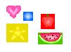 Pixel Art Brushes: Image pack. by hayleybrushes