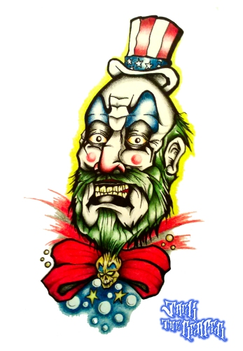 [2014-04-09] - Captain Spaulding by jackthereaper