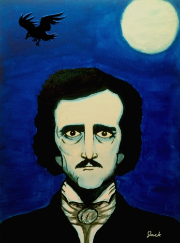 [2014-05-18] - Edgar Allan Poe by jackthereaper