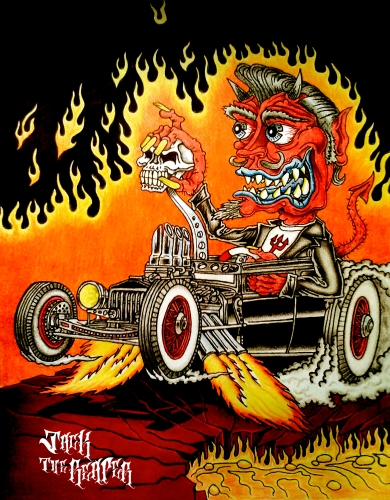 [2014-04-11] - Hot Rod Satan by jackthereaper