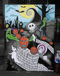 [2014-07-29] - Nightmare Before Christmas (Large) by jackthereaper