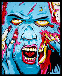[2015-02-06] - Blue Zombie (Large) by jackthereaper