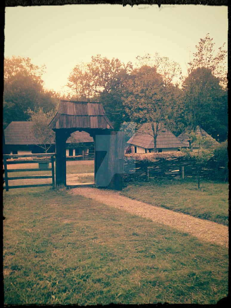 walk in village museum by gabypandea24