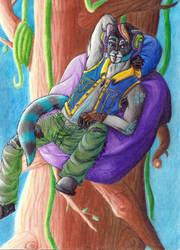 Gift Art: AoD333 Fursona