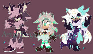 X-mas Adopts [CLOSED] by ArtsySiege
