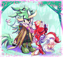 Forest x Dinah by ArtsySiege