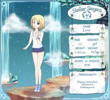 SS character sheet: Lena