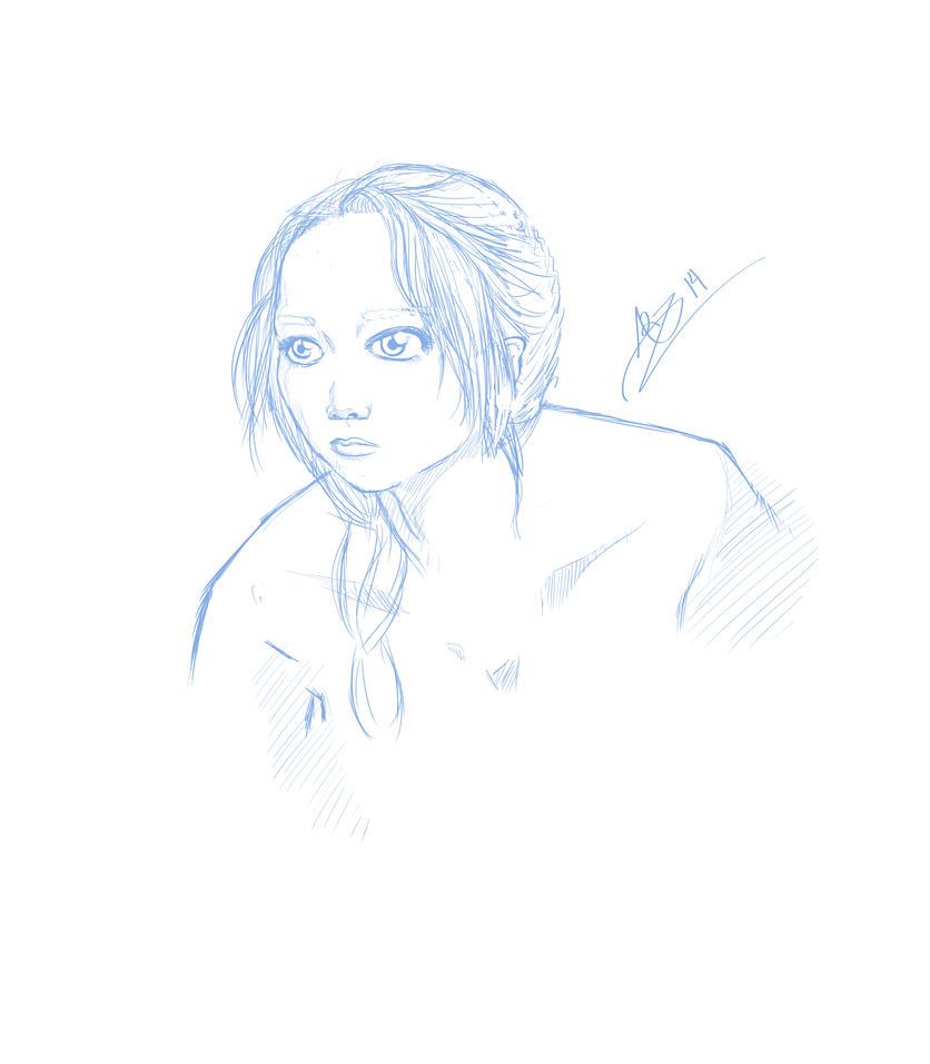 Katniss by Anjidu