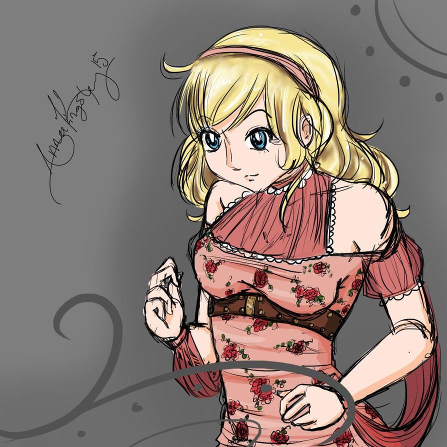 Sketchy Adrianna by Anjidu
