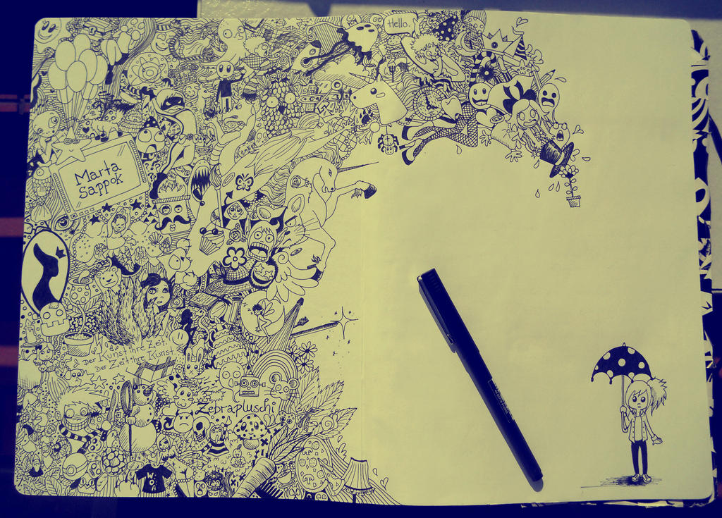 Doodle by Zebrapluschi