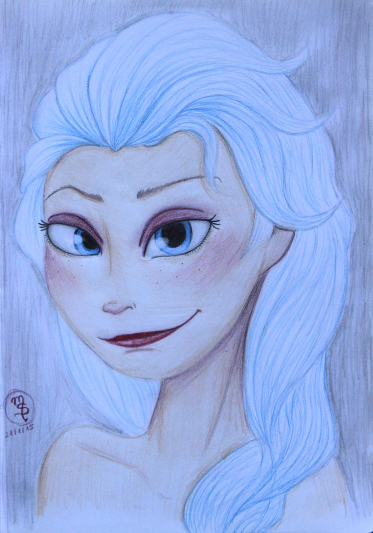 Elsa by Zebrapluschi
