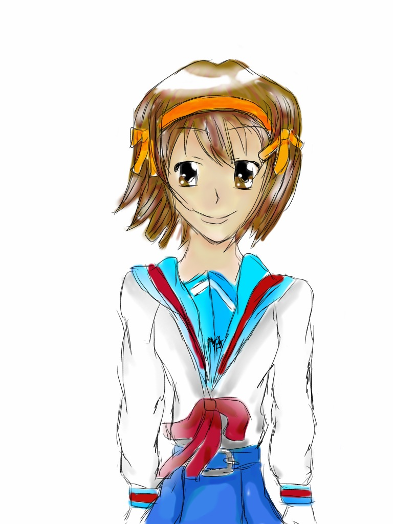 Haruhi Suzumiya :D by KartittyVangina