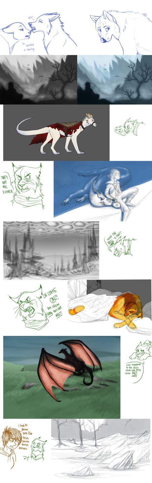 sketchdump 2k14 by Staniqs