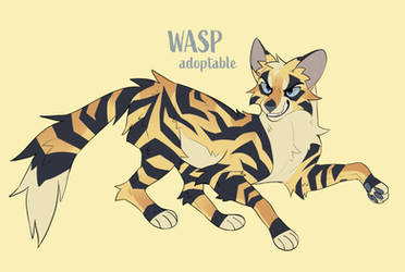 WASP // adoptable auction by Staniqs