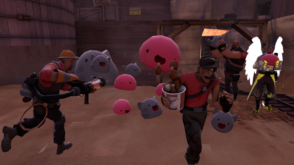 SFM] Trouble with Slimes by sparkle708 on DeviantArt