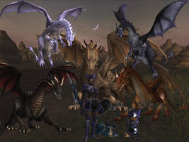 Dragons of FFXI by MaximumJas2