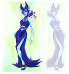 Maleficent's Formal Attire